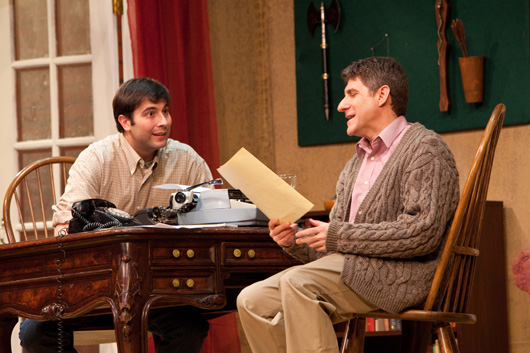 Clifford Anderson (James Meinel) and Sidney Bruhl (Michael Steven Schultz)